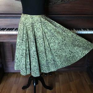 Odille Baroque pattern skirt